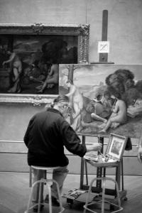 """""""He paints"""""""
