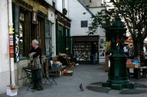 """Outdoor bookstore"""