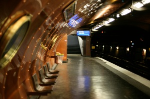 """""""The oldest subway stop in Paris"""""""