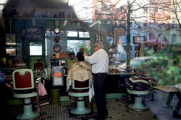 Barber In Italian : ... Italy at 20 years old because his father wanted to open a barber store